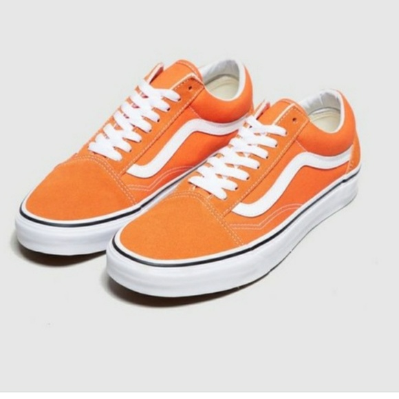 Orange Old Skool Vans | Poshmark